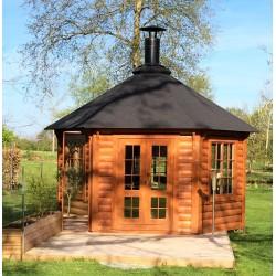 Grill pavillon 9,2 kvm
